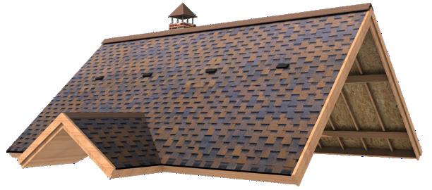 طراحی سقف شینگل