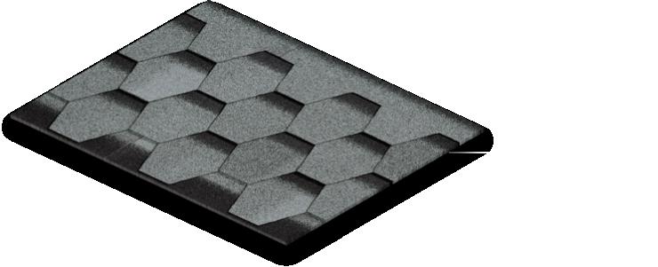 سقف شینگل BTM مدل Yakut