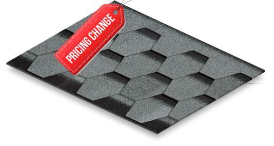 تغییر قیمت سقف شینگل